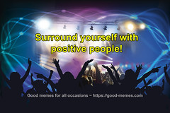 Surround yourself with positive people (fernowl33) Tags: mindfulness people positive positivity truth