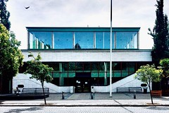 Trbg badhus. (sofjet) Tags: urban city skåne trelleborg sweden composition lines bath swimhall building facade architecture