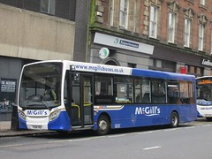 McGills B8016 YY64YKD Renfrew St, Glasgow (1280x960) (dearingbuspix) Tags: mcgills yy64ykd 8016 b8016
