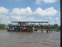 Mekong Delta, Vietnam (rylojr1977) Tags: mekongdelta river vietnam tourism nature culture southeastasia gasstation floating pontoon