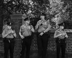 Chestnut Street, 2017 (Alan Barr) Tags: philadelphia chestnutstreet 2017 street sp streetphotography streetphoto blackandwhite bw blackwhite police mono monochrome candid people panasonic lumix gx8