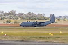 Royal Australian Air Force (A97-440) Lockheed Martin C-130J Hercules taking off at Wagga Wagga Airport (1) (Bidgee) Tags: raaf royalaustralianairforce lockheedmartinc130jhercules c130h a97440 yswg waggawaggaairport
