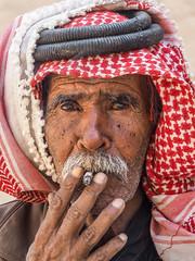 Jordan 2017 (hunbille) Tags: birgittejordan3lr jordan little petra littlepetra siq albarid siqalbarid nabatean city bedouin beduin scarf moustache smoking cigarette smoke a3b fotocompetition fotocompetitionbronze fotocompetitionsilver