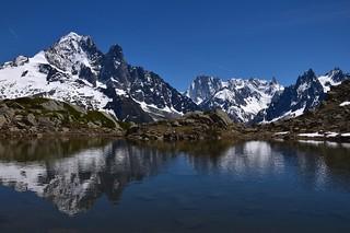 Reflets dans les Alpes - Alpine reflection...