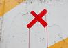 Lake Shore X (k.james) Tags: alphabet yellow letter x xx letterx wall paintedwall yellowwall concretewall chicago drippingpaint xmarksthespot kenthenderson kjameshenderson brushstrokes xxx