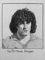 No.351: Kevin Keegan (Dame Warden) Tags: drawing sketch portrait kevin keegan