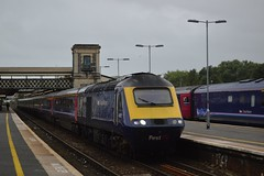 43127 (+078), Exeter St. David's (JH Stokes) Tags: 43127 exeterstdavids firstgreatwestern fgw hst highspeedtrain class43 powercar diesellocomotives trains trainspotting tracks t transport railways photography