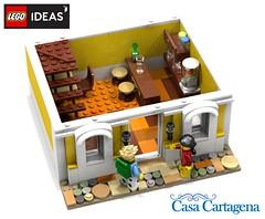 LEGO Ideas: Casa Cartagena - please support on : https://ideas.lego.com/projects/69aba0ad-b171-4002-9f2d-797f066f20e4 (diegoflorez84) Tags: lego legoideas afol colonial modular building