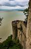 The ramparts, Mont Saint-Michel (julesnene) Tags: bay bayofmontstmichel canon canon7dmark2 canon7dmarkii canonefs1755mmf28isusm france juliasumangil lemontsaintmichel mont montsaintmichel normandy unesco unescoworldheritagecentre unescoworldheritagesite abbey ancient commune fortification hightide island julesnene landmark lowtide monastery rampart ramparts rocky tidal tide travel normandie fr