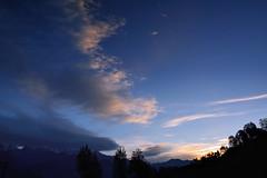Cloudy sunrise over Panchachuli. (draskd) Tags: cloud sunrise panchachuli panchachulirange mountainscene scenery munsiyari munsiari pithoragarh uttarakhand himalaya himalayanscene himalayansunrise draskd mountainscape