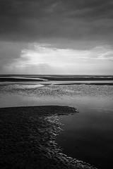 Normandie (tout droit) Tags: blackandwhite schwarzweis normandie france frankreich nature natur shadow schatten ocean ozean atlantik sea water wasser