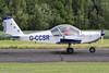 G-CCSR - 2004 build Aerotechnik EV-97A Eurostar, arriving at Sturgate during the 2017 Mid Summer Fly-in (egcc) Tags: 2017midsummerflyin aerotechnik egcs ev97 ev97a eurostar evektor gccsr lang lightroom midsummerflyin pfa31514174 sierraromeoflyinggroup sturgate
