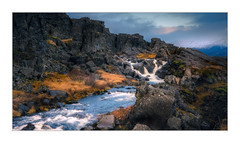 The water of ancients (Andreas Larzon Photography) Tags: andreaslarzon iceland waterfall lava lavarocks sigma1835mmf18a nikond7200 mountain soft travel ortoneffect landscape stream countryside þingvellirnationalpark eurasiantectonicplates