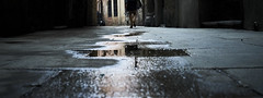 Rainy Legs (elgunto) Tags: street colors legs people water rain wet ground contrast elborn barcelona sonya7 pentax 40mm28 pancake manuallense