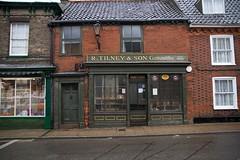 R. Tilney & Son Gunsmiths (Rockallpub) Tags: gunsmith guns beccles suffolk tilney shop 200 rain wet 1860