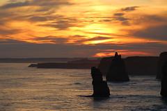 The Great Ocean Road, Victoria (RossCunningham183) Tags: greatoceanroad 12apostles twelveapostles victoria australia sunset rockformation sea