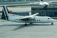 Uni-Air Fairchild FH227 F-GGPN (c/n 533) (Manfred Saitz) Tags: frankfurt airport fra eddf uniair fairchild fh227 fh27 fggpn freg