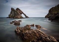 Bow Fiddle Rock (fred@fredadams-photography.com) Tags: coast highlands may2017 morayfirth morayshire scotland sea coastal landscape longexposure rocks