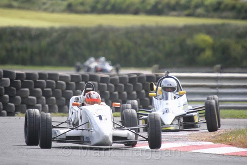 Tom McArthur in the Formula Ford FF1600 championship at Kirkistown, June 2017
