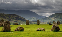 More standing Stones. (Tall Guy) Tags: tallguy uk ldnp lakedistrict cumbria castleriggstonecircle stonecircle standingstones keswick unescoworldheritagesite unesco world heritage site