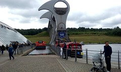 The Falkirk Wheel. (Paris-Roubaix) Tags: forth clyde canal falkirk wheel narrowboats scottish canals stirlingshire scotland
