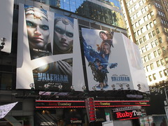 Valerian and the City of a Thousand Planets Billboard Poster 7954 (Brechtbug) Tags: valerian city thousand planets billboard poster times square nyc 2017 french science fiction comics series from 1967 valérian laureline written by pierre christin illustrated jeanclaude mézières film movie directed luc besson new york 06262017