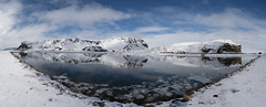 Iceland. (richard.mcmanus.) Tags: panorama winter ice reflection landscape snow mountain mcmanus arctic iceland