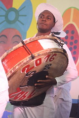 Conga Los Hoyos (2017) 04 (KM's Live Music shots) Tags: worldmusic cuba congasantiaguera congaloshoyos galleta drums neworleansjazzheritagefestival culturalexchangepavilion fairgroundsracecourseneworleans