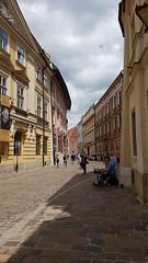Old Town, Kraków 30.6.17 - 3.7.17 (aoifegray) Tags: krakow oldtown popejohnpaul poland architecture urban citycentre city colourfulbuildings colour music