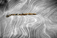burniston rocks (#christopher#) Tags: rocks shoreline beach erosion geology selectivecolouring