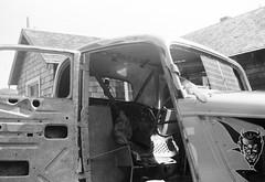 Interior Dirt Track Ford (Actually Mike) Tags: flatheadford dirttrack 1950s blackandwhite elmawa 1958 1933 1934 devil diablo teufel