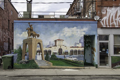 Back in the old country (aerojad) Tags: eos canon 80d dslr 2017 city urban toronto canada vacation travel wanderlust kensingtonmarket streetphotography mural art artinpublicplaces publicart