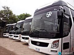 Gang Of SR Hyundai :) (Cms Rayhan Raz) Tags: bangladeshibus busesofbangladesh hyundaibus srtravels busmania