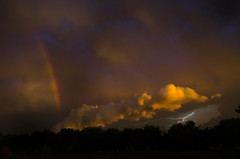 Rolling In (MattGerlachPhotography) Tags: kansas weather rainbow storm sunset newton 67114 nikon d7000 june 15 2017 lightning
