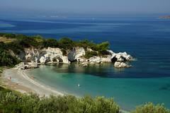 Coastline of Kefalonia (steve_whitmarsh) Tags: greece kefalonia beach water sea coast ionian lassi fanari top20greece