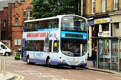 31796 YN53EFP First Glasgow (busmanscotland) Tags: 31796 yn53efp first glasgow yn53 efp volvo b7tl wright eclipse gemini south yorkshire