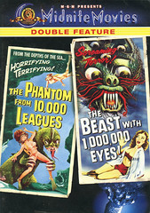 The-Phantom-from-10000-Leagues&The-Beast-with-1000000-Eyes (Count_Strad) Tags: dvd blurayblu ray movie drama scifi horror action coverart cover art disc