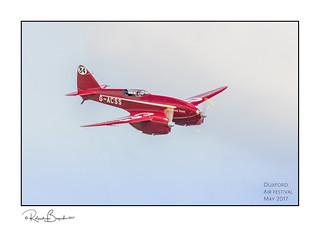 de Havilland DH88 Comet racer - 1930s [Explored]