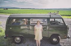 """CORN!!! / Mile 321 - """"VW Bus or Bust"""" Road Trip, West Virginia to Maine (Jonmikel & Kat-YSNP) Tags: roattrip summertime vw bus vwbus poptop camper vwbusorbust backroads corn field"""