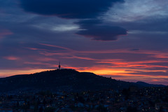 20170426-Canon EOS 6D-4845 (Bartek Rozanski) Tags: sarajevo bosniaandherzegovina bosnia hum tower sunset mountain mountains