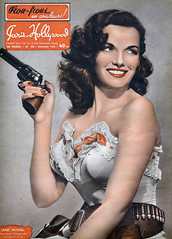 Jane Russell (Tom Simpson) Tags: janerussell pinup woman boobs vintage girl cowgirl gun revolver