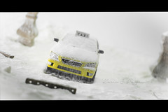 Taxi miniature under the Snow (Karim S.Punjani) Tags: car christmas snow delivering montreal taxi wedding canada celebration transportation winter boxcontainer carrying horizontal modeoftransport photography quebec shipping street surprise toy newyorkcity newyorkstate road city overheadview blizzard driving coldtemperature ice snowing tyretrack motion businesstravel citylife colourimage danger day frozen landvehicle nopeople outdoors publictransport traffic tree usa weather