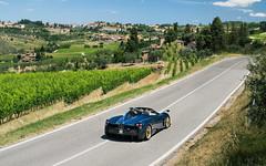Huayra Roadster. (Alex Penfold) Tags: pagani huayra roadster blue carbon supercars supercar super car cars autos alex penfold 2017 italy tuscany
