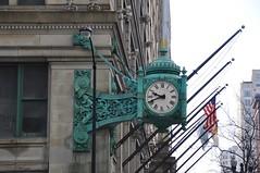 4-002 Macy's Clock (megatti) Tags: chicago clock departmentstore il illinois macys marshallfields