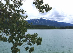 Green Lake - near Whistler, BC (FernShade) Tags: britishcolumbia westcoast pacificnorthwest mountains landscape nature scenery scenic greenlake lake water