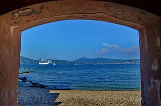 It looks like a pirate hideout, Saint Tropez