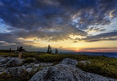 This is one of the #workshop participants shooting the sunrise at #BearRocks preserve on the eastern edge of the Dolly Sods wilderness in #WestVirginia. This is one of my #favorite places to visit and shoot the sunrise. (HOW TO WIN FRIENDS AND INFLUENCE PEOPLE) Tags: workshop bearrocks westvirginia favorite