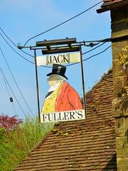 John Fuller's pub sign