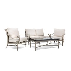 Saylor 4 Piece Loveseat Seating Set Blue Oak Outdoor (Blue Oak Outdoor) Tags: blueoak blueoakoutdoor outdoorfurniture patiofurniture gardenfurniture sunroomfurniture saylor