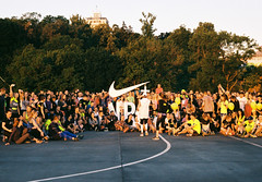 Nike Run The Sun 2017 (Graphic designer | Film lover) Tags: nike nrc running nikerunning film 35mm sunrise sun summer 2017 camera ukraine training people crowd